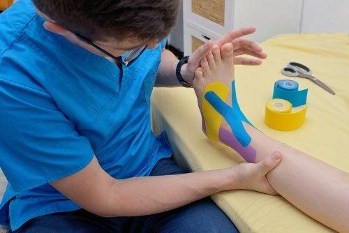 couleurs d'un bandage neuromusculaire