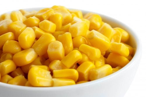 fajitas au maïs sucré et aux champignons