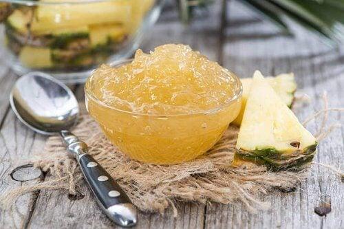 recettes de confitures : confiture d'ananas