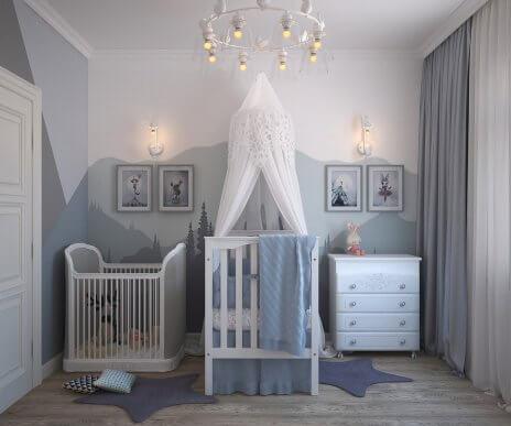 Les 4 meilleures couleurs pour une chambre d'enfant