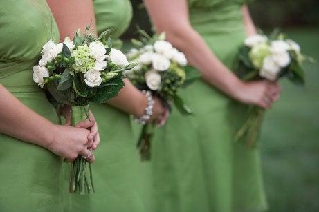 demoiselles d'honneur à un mariage