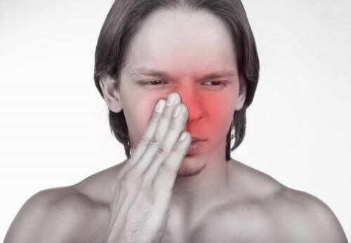 prise de médicaments par le nez