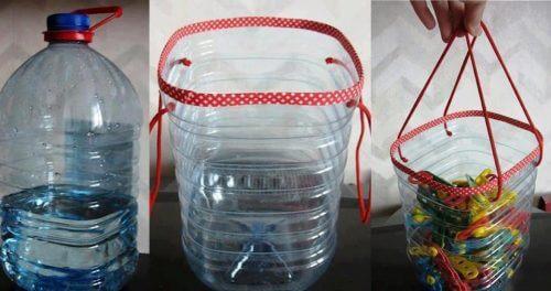 conteneurs multi-usages en emballages plastique recyclés