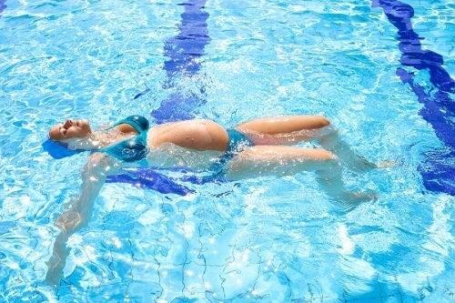 natation comme exercice pendant la grossesse