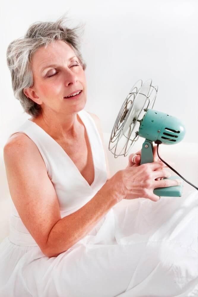 alimentation et ménopause pour les bouffées de chaleur