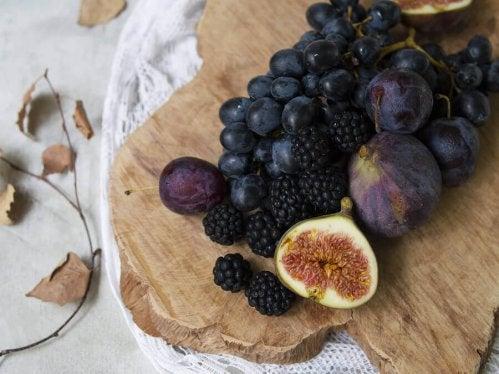 truffes au chocolat et aux fruits