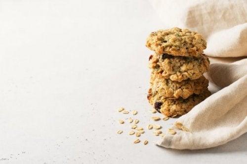 Biscuits à l'avoine sans sucre ni beurre