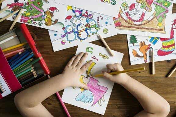Les bienfaits du dessin chez les enfants
