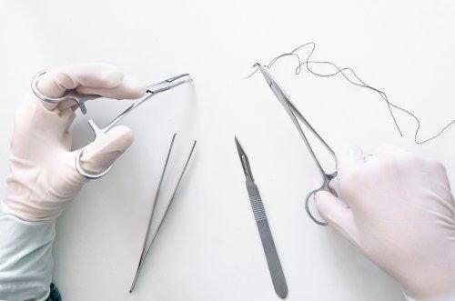 soigner les blessures aux mains