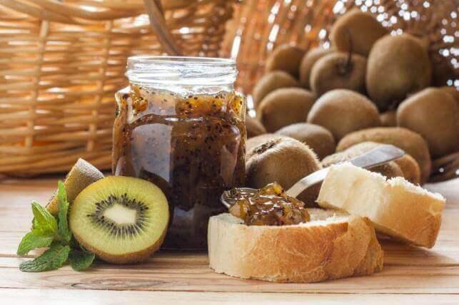 recettes de confitures : confiture de kiwi