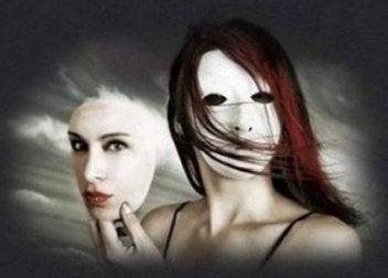 Personne qui porte un masque