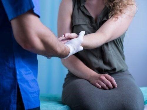 guérir les blessures aux mains