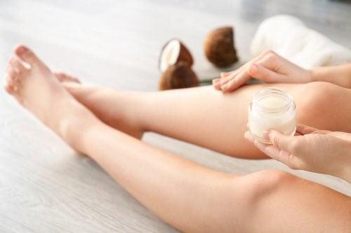 vinaigre de noix de coco en tant que cosmétique