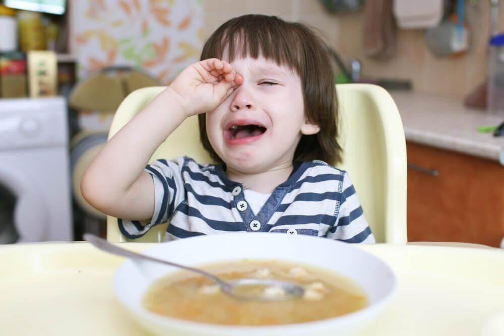 Que faire lorsque les enfants ne veulent pas manger ?