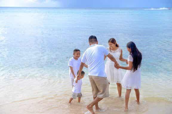 Allons à la plage avec les enfants !