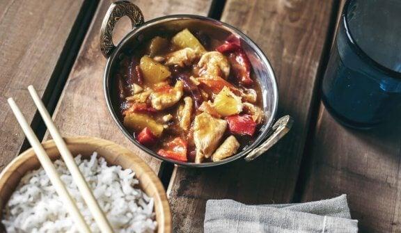 Poulet sauce aigre-douce à la chinoise