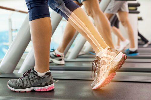 sport et genoux
