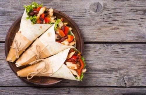 3 recettes de burritos maison que vous allez adorer