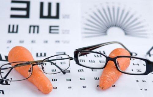 la carotte fait partie des aliments riches en vitamine A
