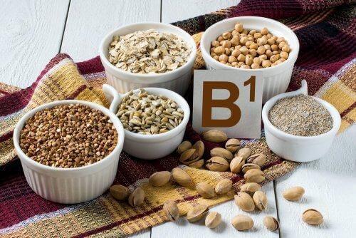 les céréales sont riches en vitamine B1