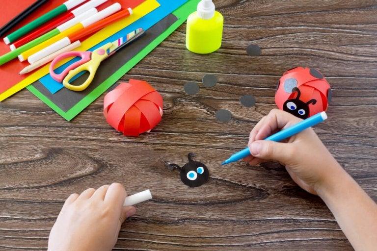 5 idées de travaux manuels pour les enfants en âge préscolaire