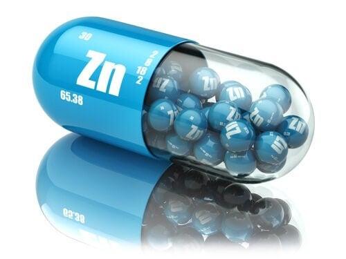 aliments riches en zinc et suppléments