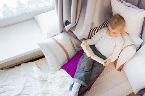 Comment créer un bon coin lecture pour les enfants ?