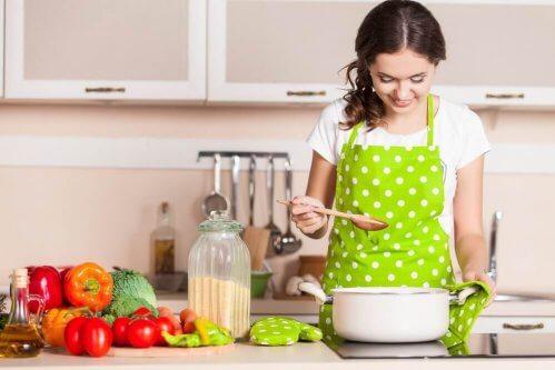cuisiner pendant ses vacances à la maison