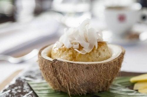 Flan coco sans sucre et sans lait