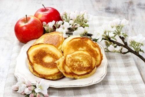 gallettes aux châtaigne et aux pommes, une de nos délicieuses recettes à base de châtaignes