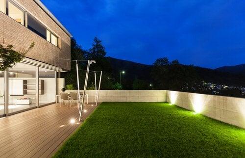 6 illuminations nocturnes de jardin