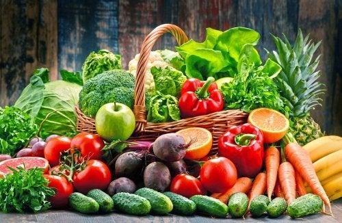 légumes pour la soupe espagnole