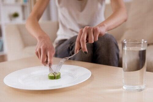 Les troubles alimentaires peuvent être un signe de maladie mentale