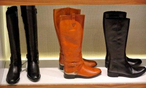 Idées et conseils pour ranger ses paires de bottes