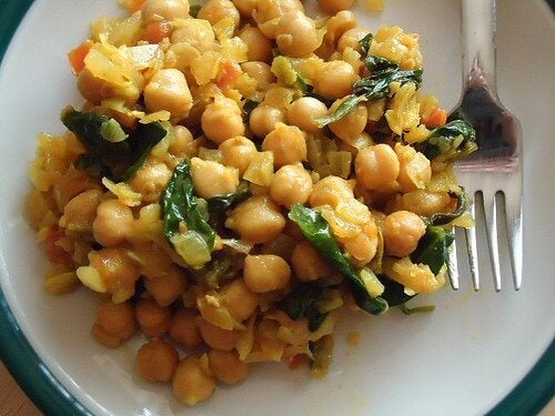 ke pā o ka chickpea curry