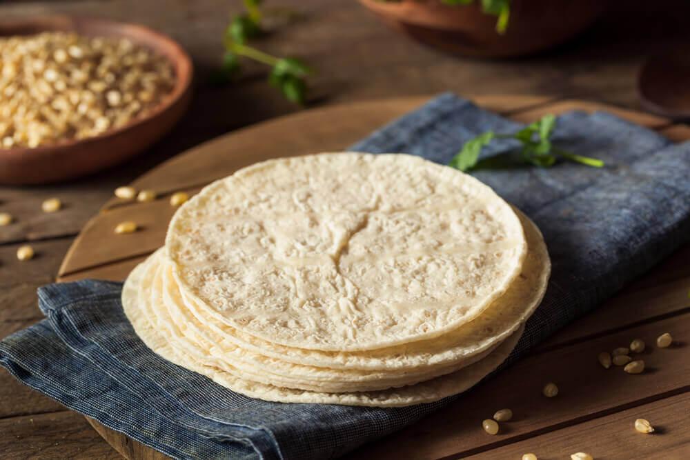 préparation des tortillas