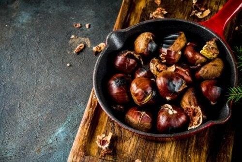 4 recettes à base de châtaignes délicieuses et saines