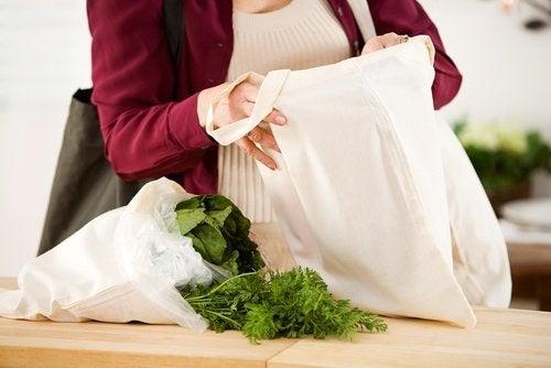 sacs en tissu écologiques