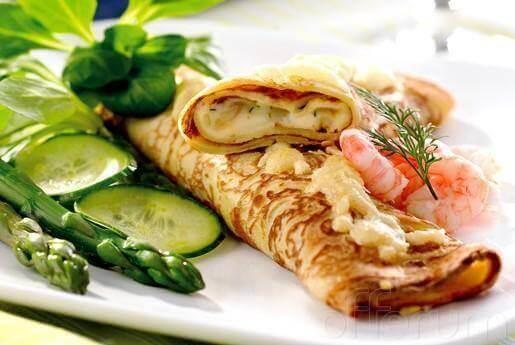 secret des crêpes aux crevettes