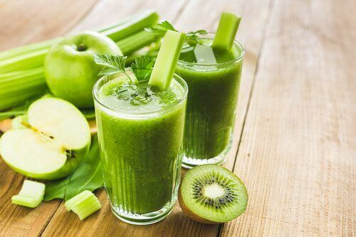 smoothies verts