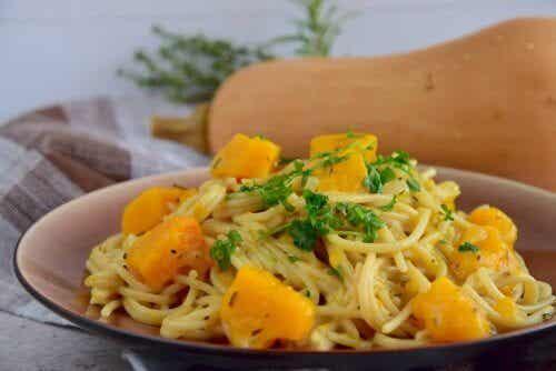 Délicieuses recettes de spaghettis au potiron : à ne pas manquer !