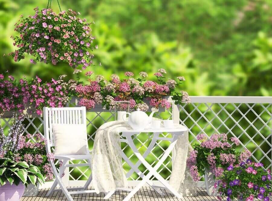 le style romantique pour votre terrasse