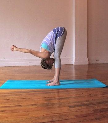 Il est certaines postures de yoga rarement pratiquées, telles que celle du paon