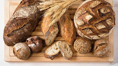 aliments transformés sain : le pain complet