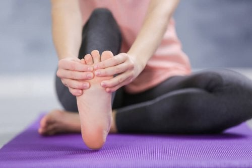 douleurs au pied à cause du canal tarsien