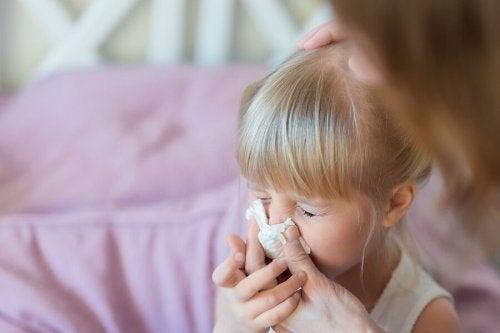 5 moyens efficaces d'éliminer le mucus chez votre enfant