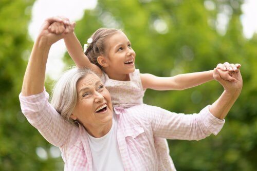 Être grand-mère pour la première fois