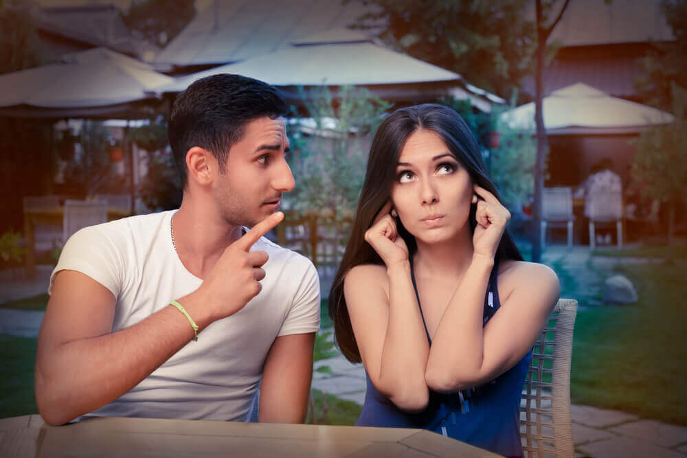 Un couple qui n'arrive pas à communiquer