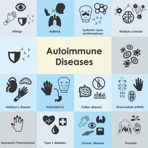 Maladies auto-immunes les plus fréquentes