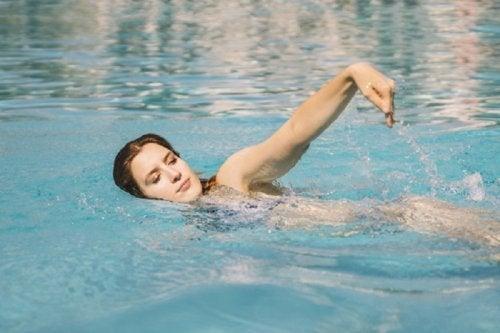 la natation vous aidera à vous sentir bien